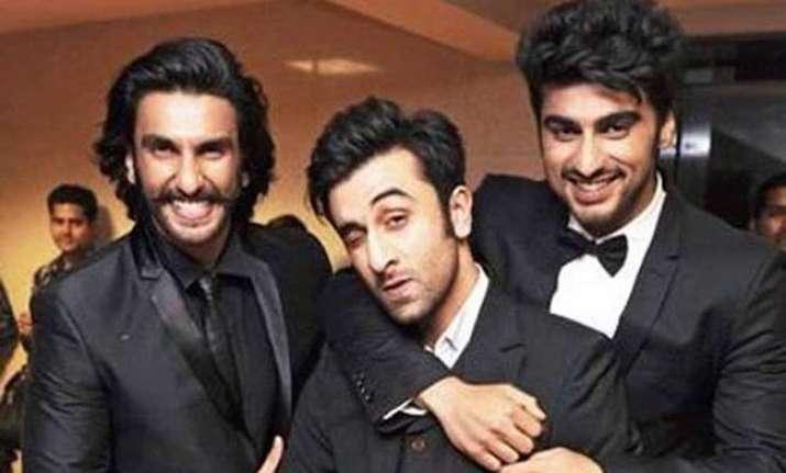 Ranveer Singh, Ranbir Kapoor, Arjun Kapoor