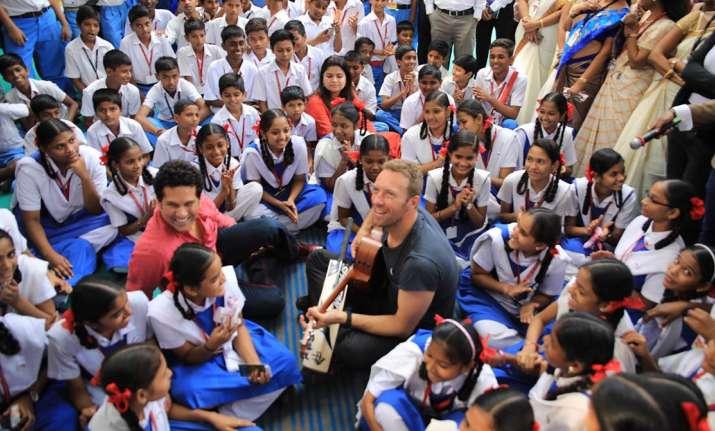 Sachin Tendulkar, Chris Martin