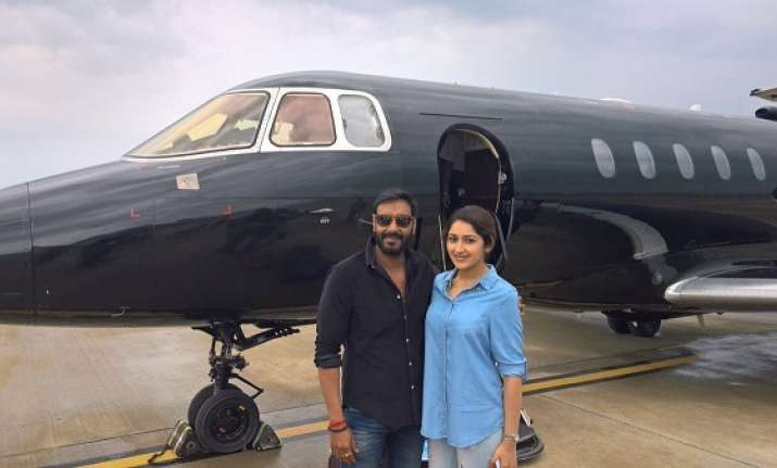 Sayyeshaa Saigal shares her experience of working with Ajay