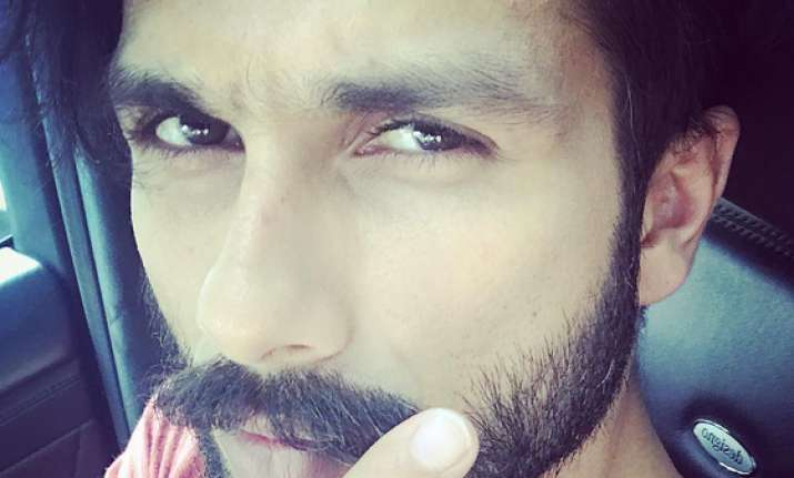 Shahid starts shooting for 'Padmavati'