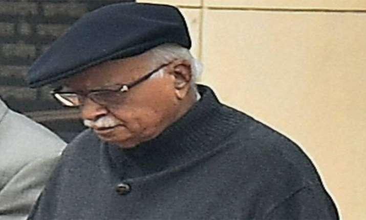 Advani miffed over ruckus in parliament