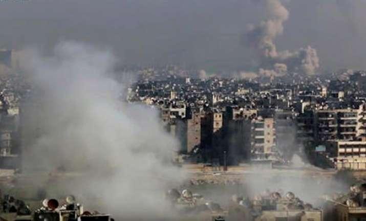 Aleppo Russian airstrikes