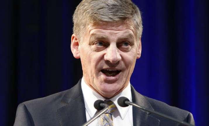 Bill English elected to replace New Zealand PM John Key