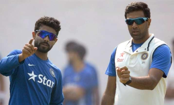 Spinners Ashwin, Jadeja grab top two spots on ICC bowling