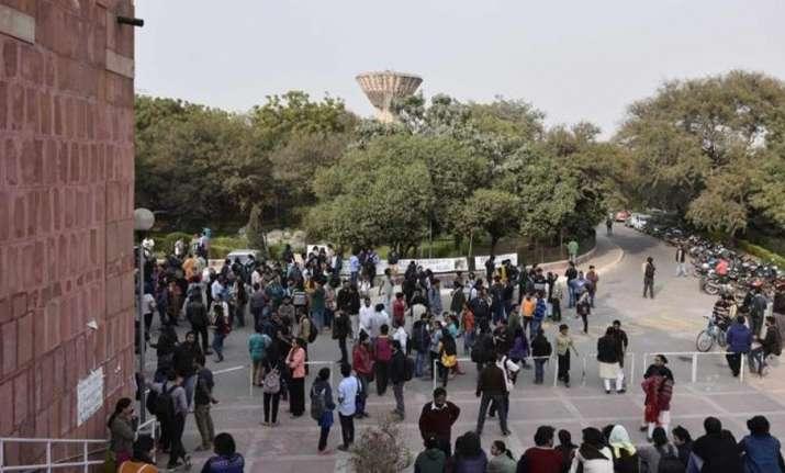 Delhi Police scan JNU campus to find missing Najeeb Ahmed