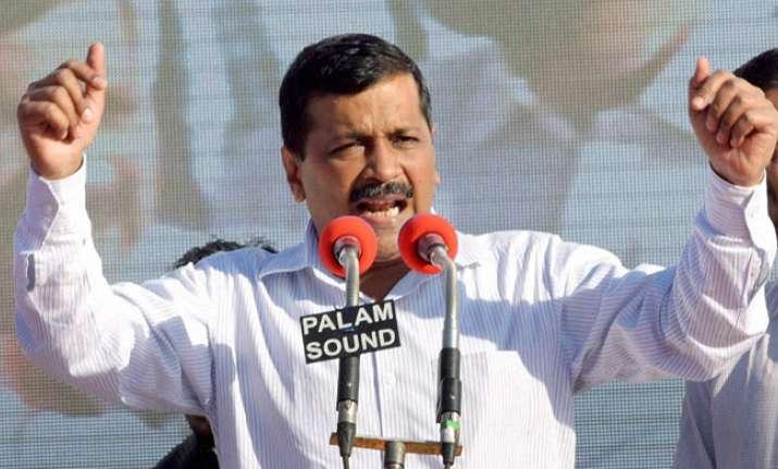 Kejriwal targets PM Modi