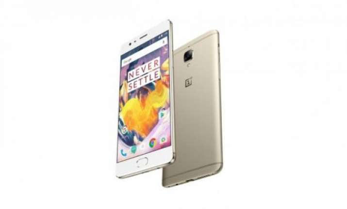 One Plus 3T in soft gold to begin sale from January 5