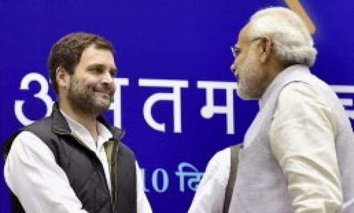 PM Modi asks Rahul to meet regularly