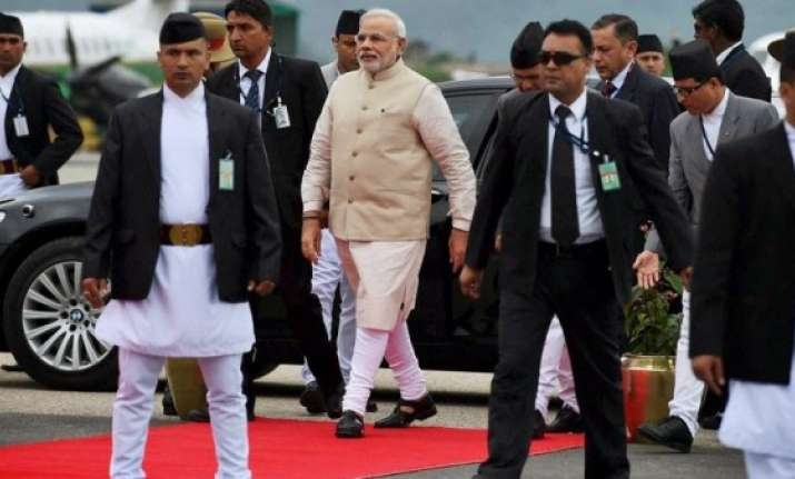 'No fancy and colourful outfits during PM Modi's