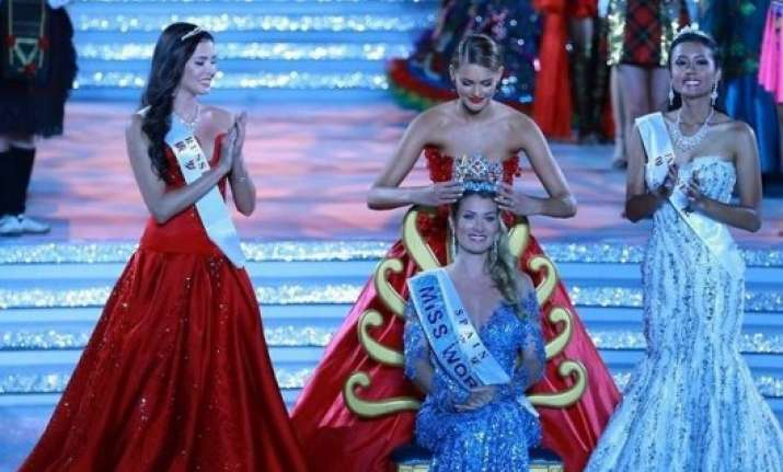 Miss Puerto Rico crowned Miss world