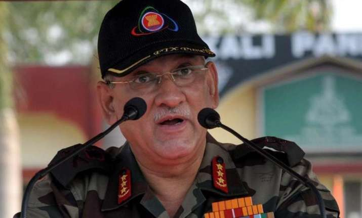 File photo of Army chief Bipin Rawat
