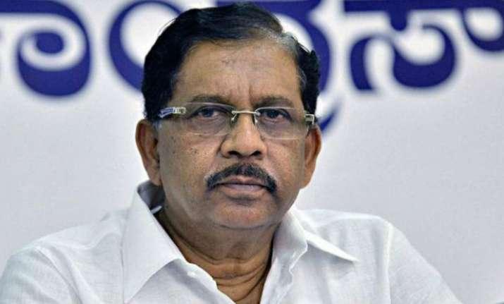 Bengaluru molestation Uproar over Karnataka minister's