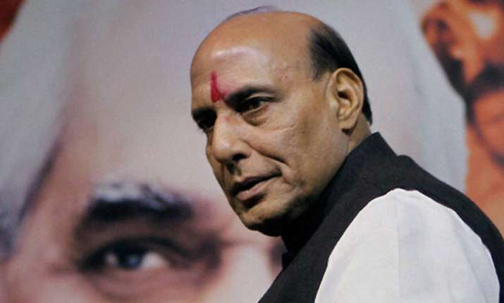 File photo of Rajnath Singh
