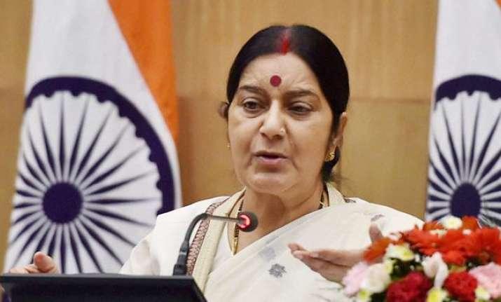 Sushma Swaraj coordinates rescue mission on Twitter
