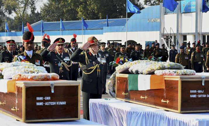 Army Chief Gen Bipin Rawat pays tribute to soldiers
