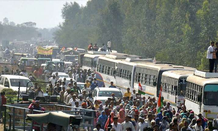 The Jat agitation completed 31 days on Tuesday