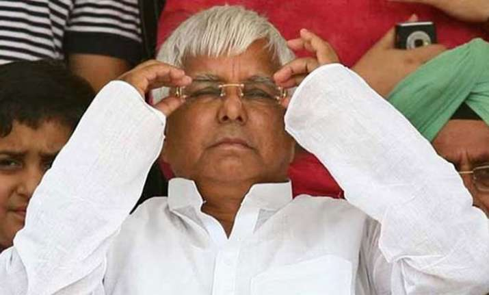 'Modi a dangerous man', says Lalu Yadav as he