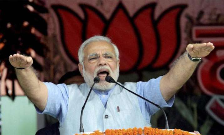 PM Modi seeks to puncture 'kaam bolta hai' slogan of