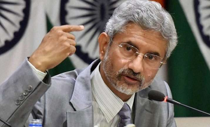Foreign Secretary S Jaishankar warned against demonising
