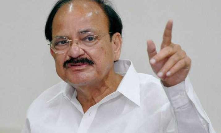 Union minister Venkaiah Naidu slammed Rahul Gandhi for
