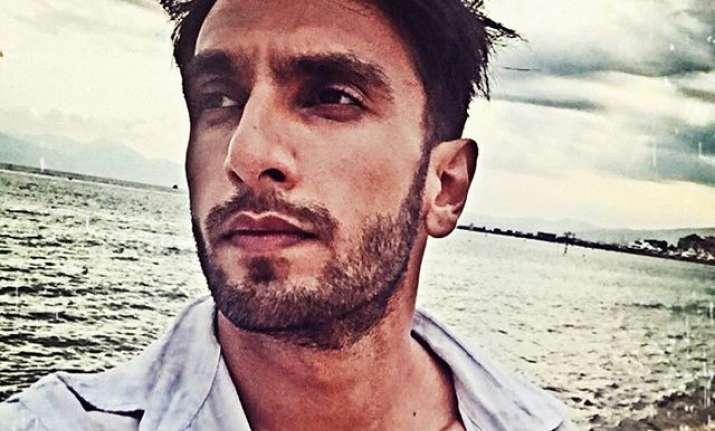 Ranveer Singh on a Swiss Vacation