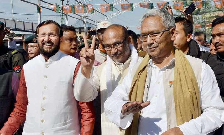 BJP-led govt wins floor test in Manipur, Biren Singh gets