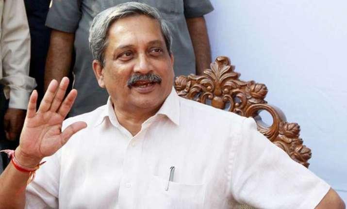 Goa chief minister Manohar Parrikar stepped down as Union