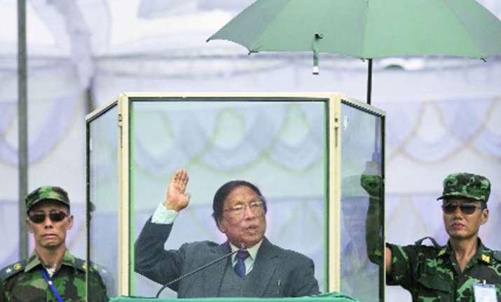 Thuingaleng Muivah, General Secretary, NSCN-IM (Naga