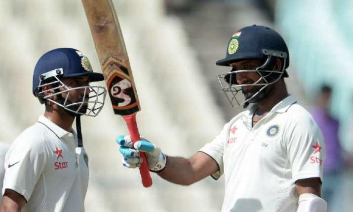Will be 'gold' if Pujara, Rahane add 100 more runs: