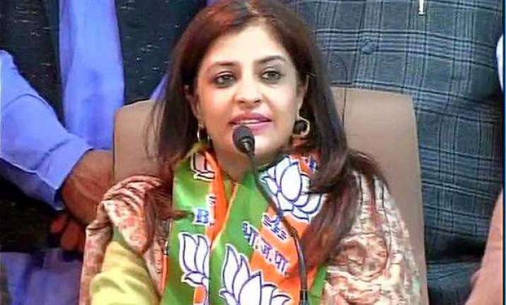 Jamia dropped my name from speakers' list, BJP's Shazia
