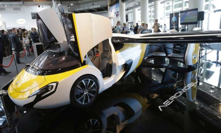 Meet AeroMobil's flying car, available for pre-order soon