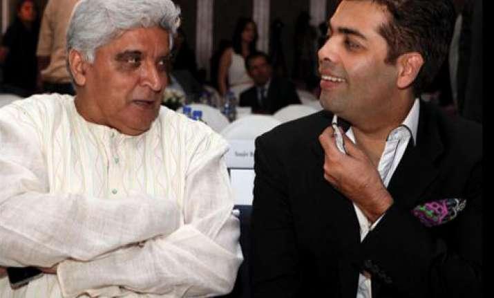 Javed Akhtar on Karan Johar's twins