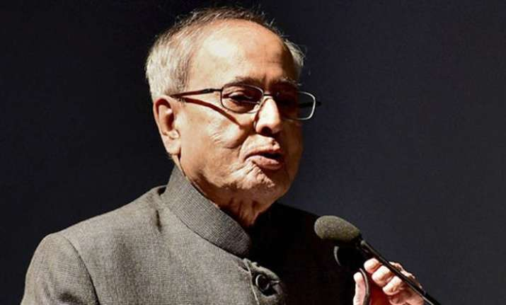 Services a key growth driver of Indian economy: President