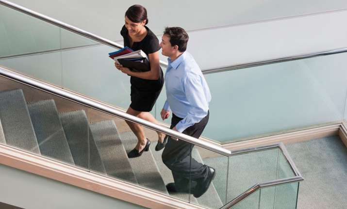 Image result for office stairs walking