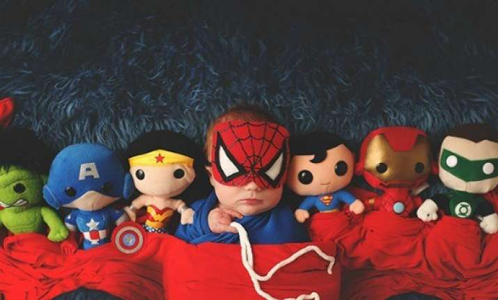 Do you know why babies love superheroes? This is the