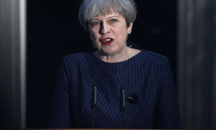 British PM Theresa May seeks early election on June 8
