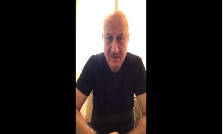VIDEO: Anupam Kher applauds the Indian Army soldiers &
