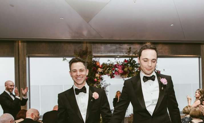 Big Bang Theory's Sheldon Cooper aka Jim Parsons marries