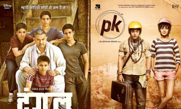 Dangal breaks PK record in China, mints over 100 crore in 4