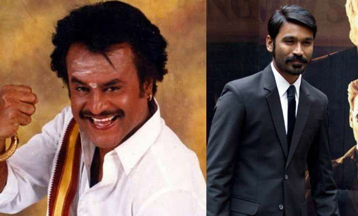 Rajnikanth's 164th film is titled Kaala, Dhanush reveals