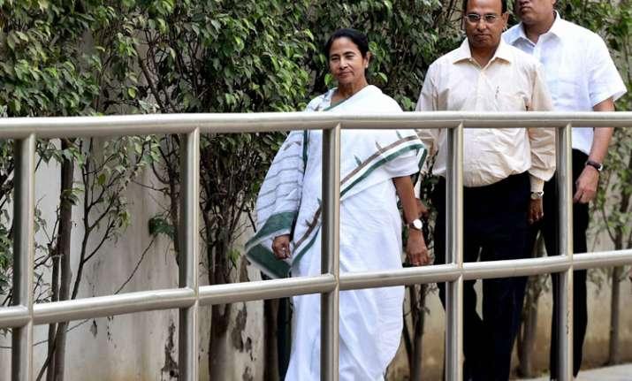 Mamata Banrejee terms raids on Chidambaram, Lalu as