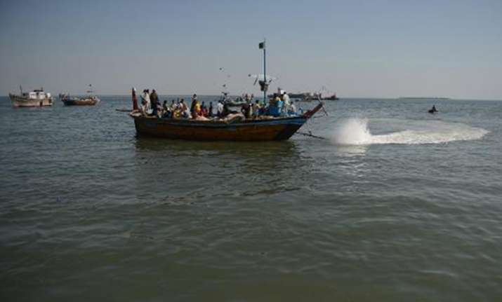 BSF nabs 6 Pak fishermen from Sir Creek in Kutch