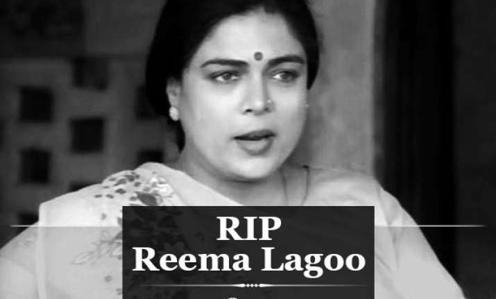 Reema Lagoo Bollywoods Beloved Mother Passes Away At 59 Due To