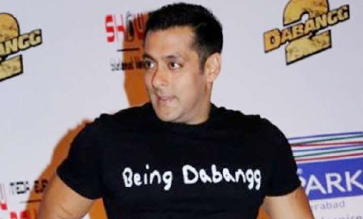 OMG! Is this Salman Khan tearing and eating his own jeans?