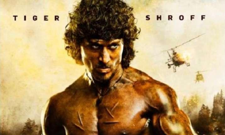 Tiger Shroff nails it as Indian Rambo but Sylvester