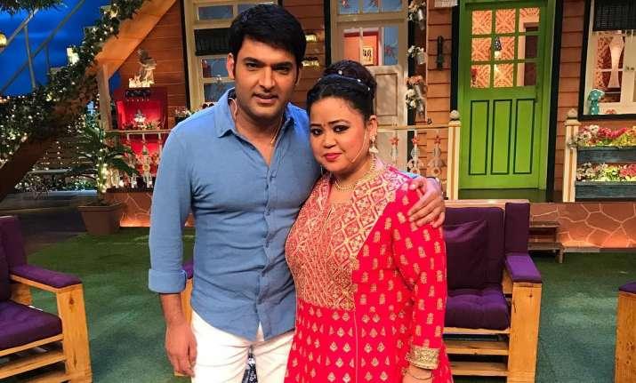 Bharti Singh and Kapil Sharma