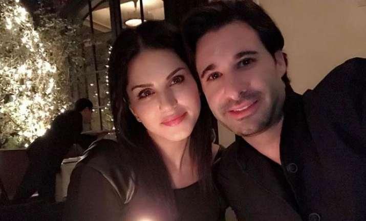 Watch: Sunny Leone and husband Daniel Weber survive plane