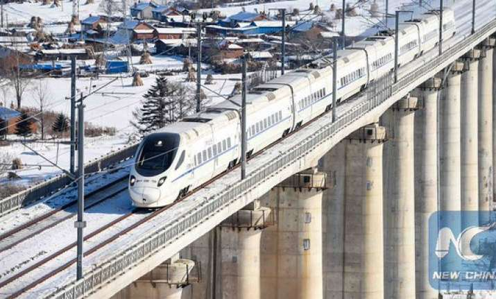 China's fastest bullet train 400km/h makes debut