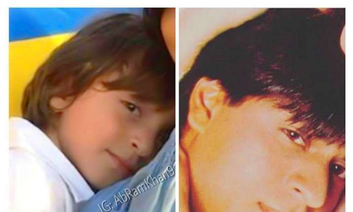 Shah Rukh Khan shares adorable pic with son AbRam