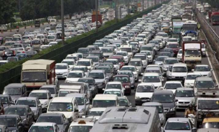 Delhi now has over one crore vehicles